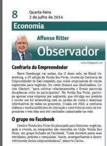 2.07.2014 - Jornal do Comércio Impresso_Affonso Ritter_Página 8