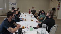 Reunião ACIST-SL e SEDETTEC
